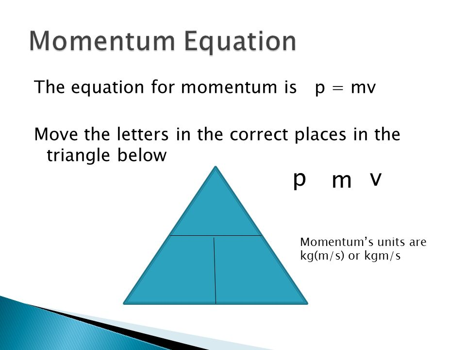 Mr Sherred Physics Yourname An Objects Momentum Depends On Two