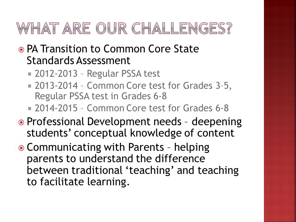 Christina steinbacher-reed. Where are you with ela common core.