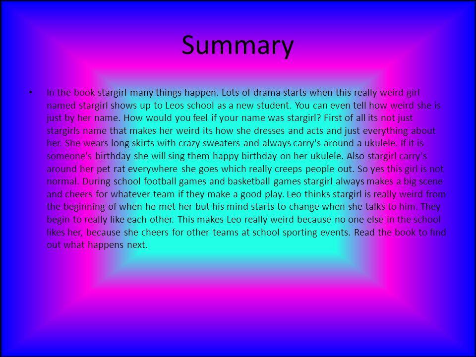 Jerry spinelli stargirl book report popular home work proofreading websites us