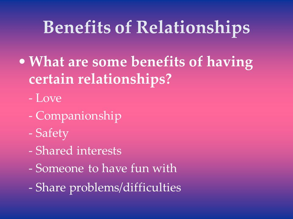What does companionship mean in a relationship