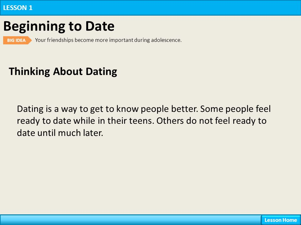 May 2014.. young people to see sex as the center of their dating relationship..