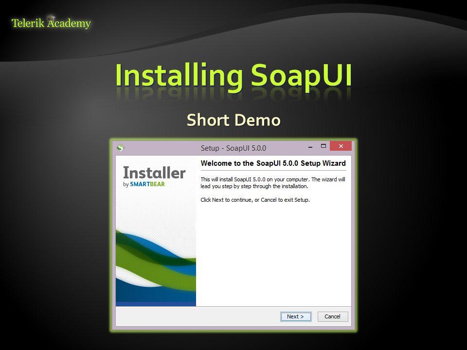 SOAP-based Web Services Telerik Software Academy Software