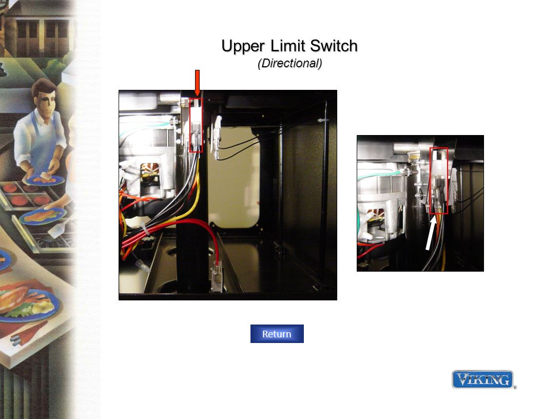 Upper Limit Switch (Directional) Return