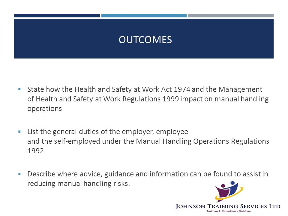 responsibilities under the health and safety at work act To help you understand your responsibilities under the work health and safety (whs) laws we have provided information and guidance relating to duty holders under the work health and safety act 2011 (cth) (whs act) and others with a delegated role or responsibility on behalf of the person conducting a business or undertaking (pcbu.