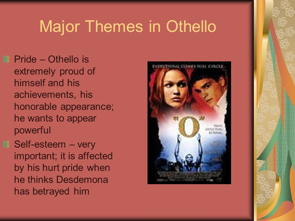 major themes in othello
