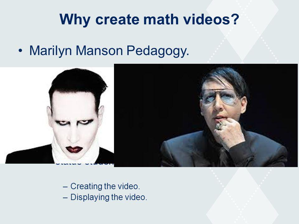 Engagement through student created math videos Sean Nank, PhD ...