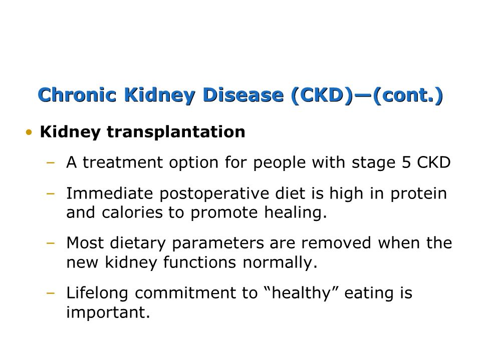 Nutrition for Patients with Kidney Disorders Chapter ppt download