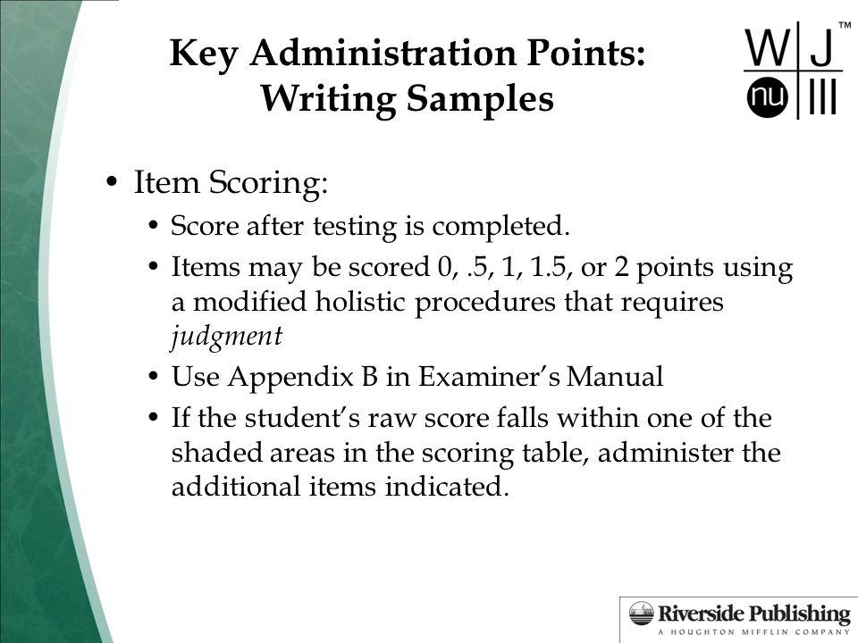 Woodcock johnson iii tests of cognitive abilities riverside.