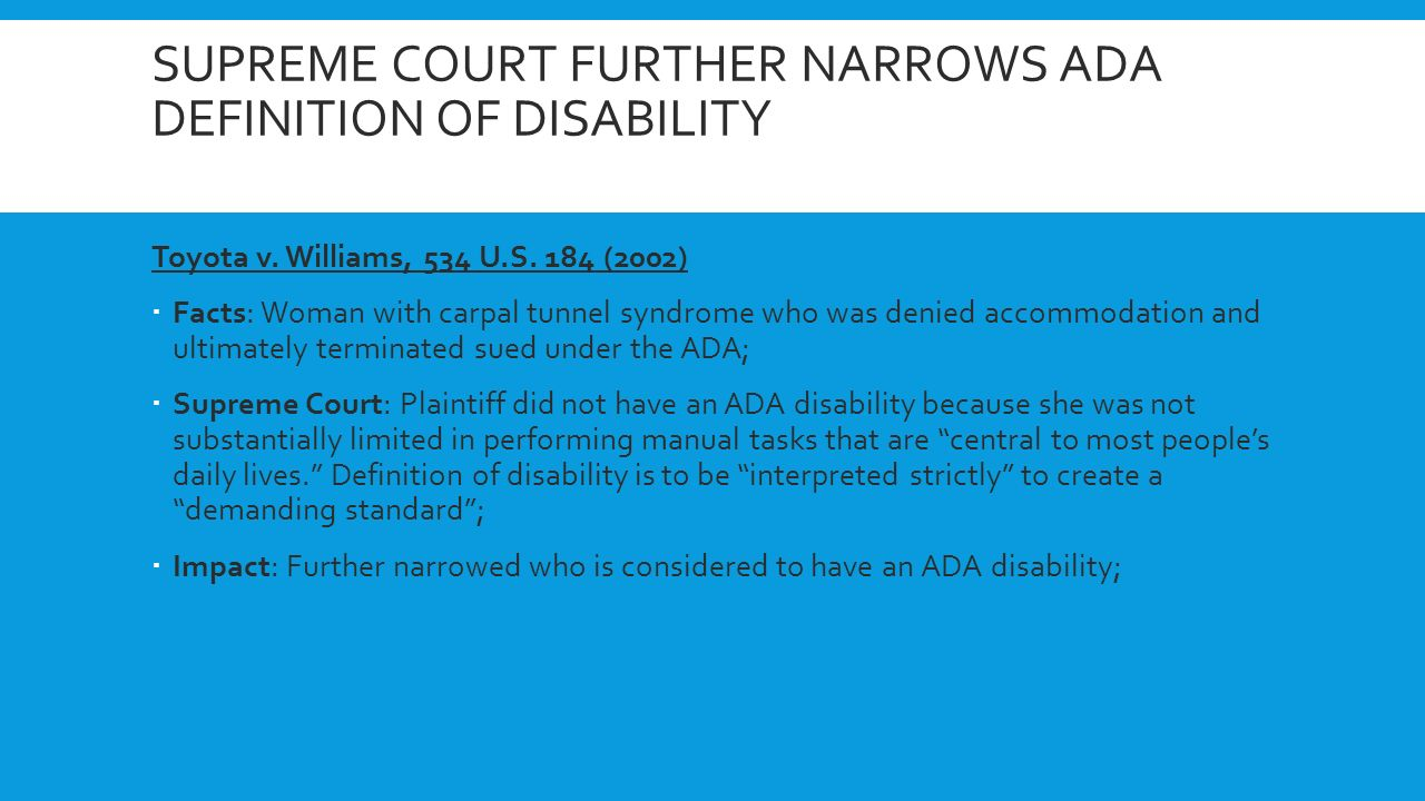 ada – 25 years time for a refresher? by amy maes, disability network