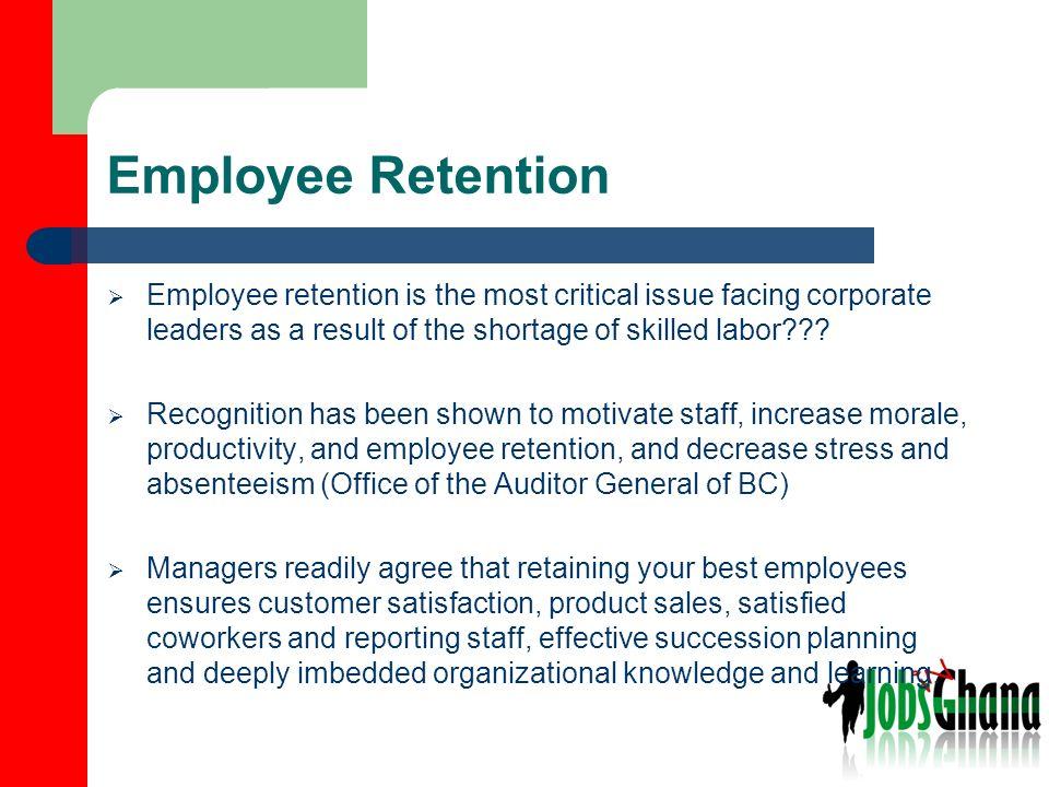 Employee retention.