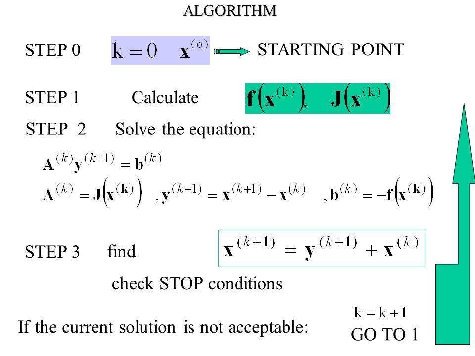 Circuits Theory Examples Newton-Raphson Method  Formula for