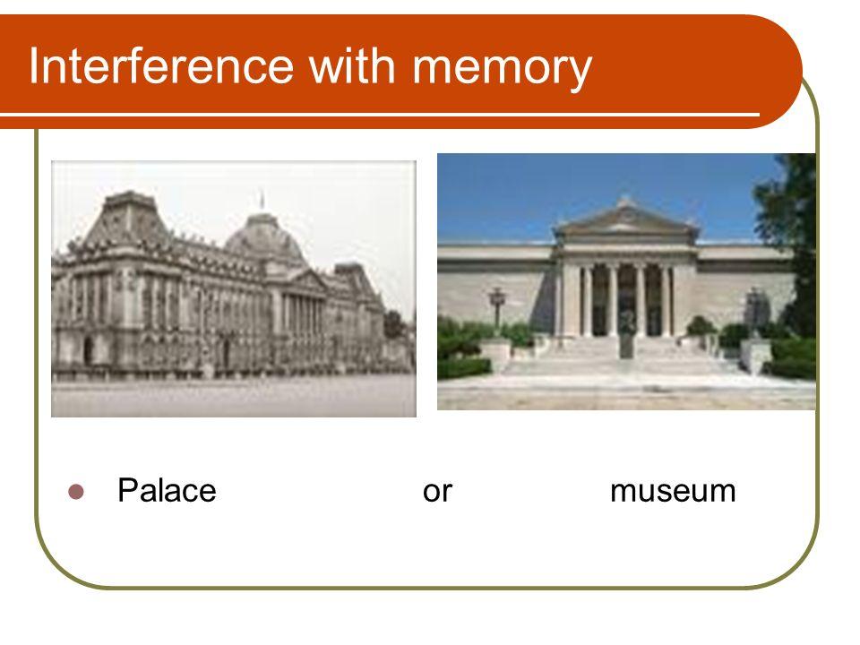 Memory Eyewitness Testimony  Learning objectives Understand