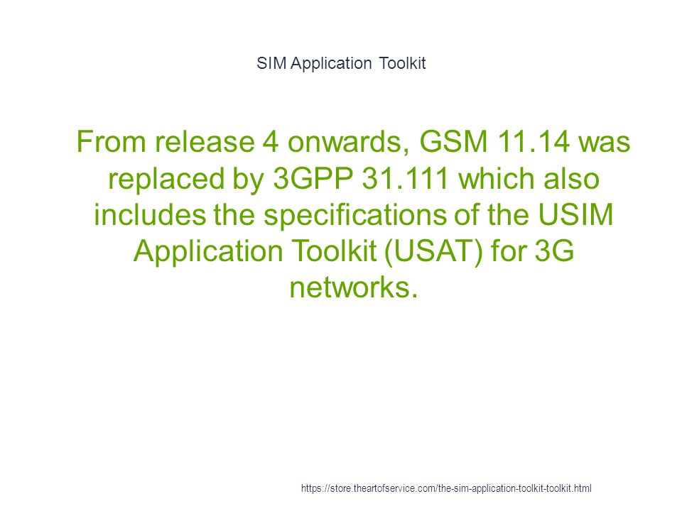 SIM application - ppt download