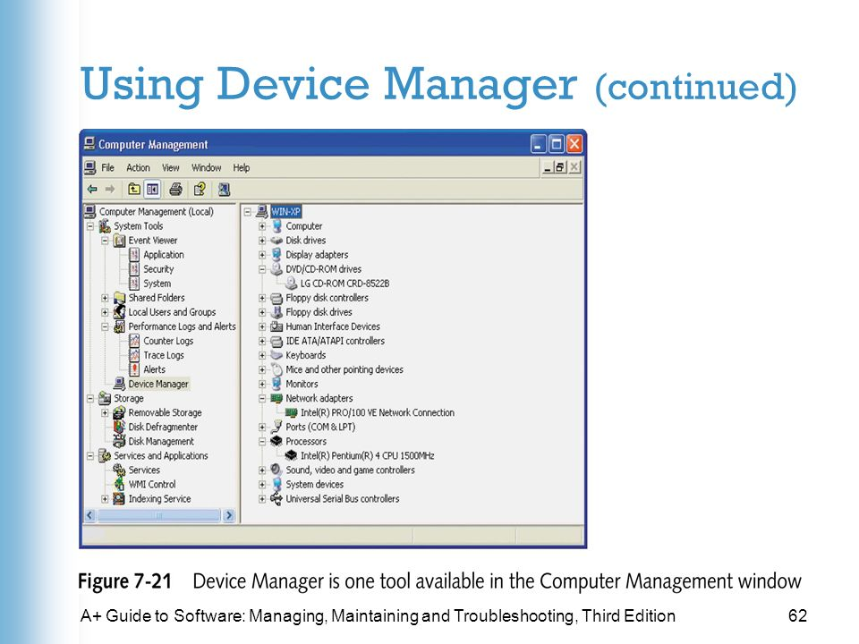 A+ Guide to Software Managing, Maintaining and Troubleshooting THIRD