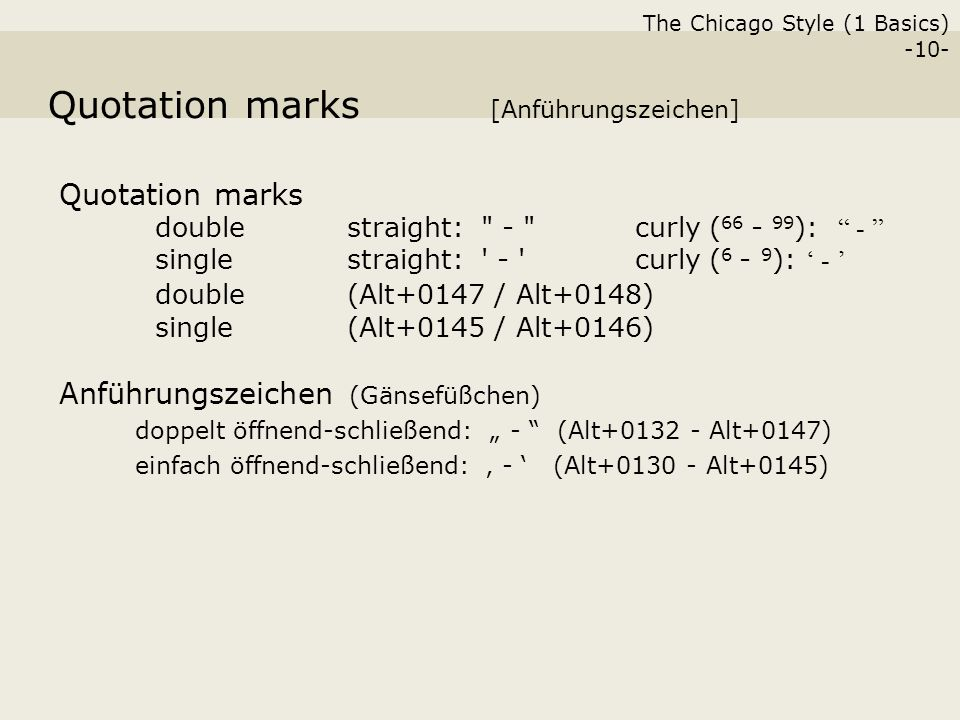 The Chicago Style (1 Basics) -1- The Practice of Citing Scientific ...