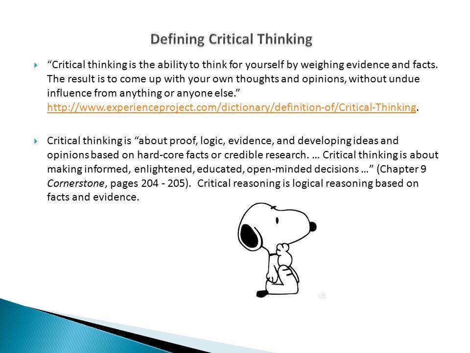 how bias influences critical thinking