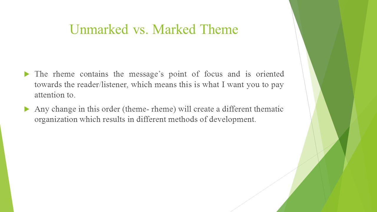 Information Structure.  The information structure of a sentence ...