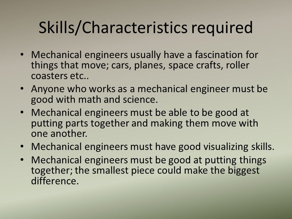 Presentation By Oscar Jasso 6 Th Period Ied What Is Mechanical