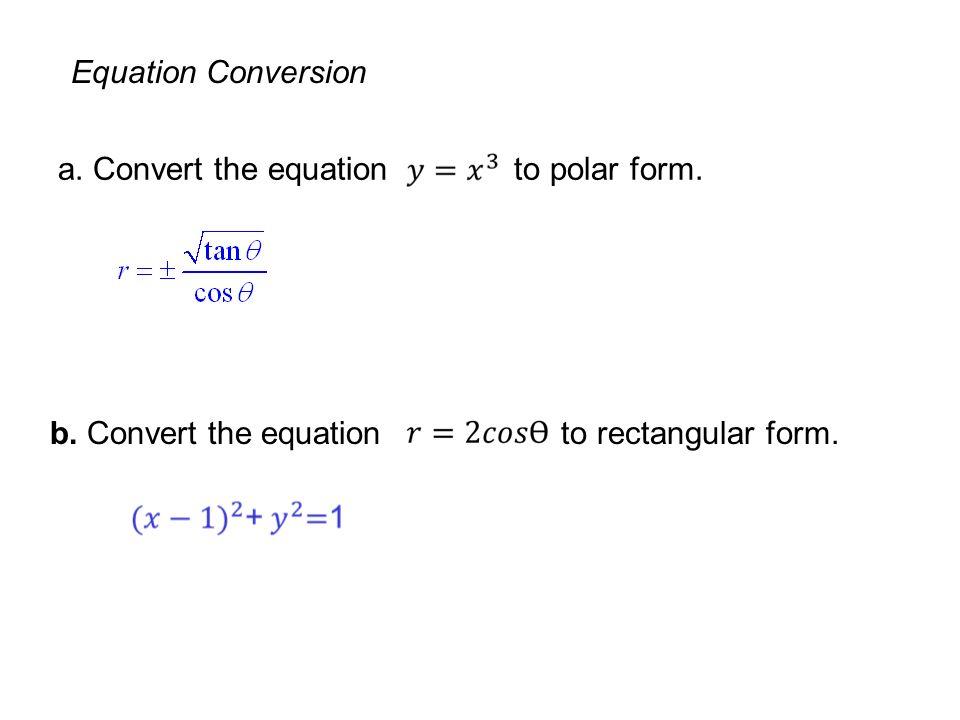 Conics Parametric Equations And Polar Coordinates 10 Copyright
