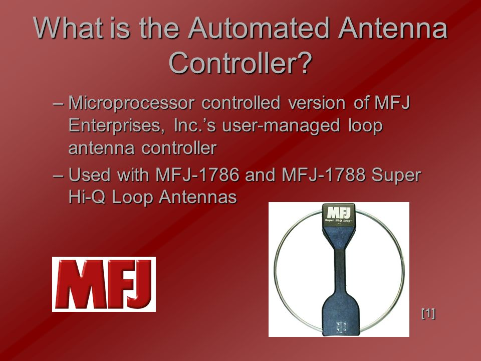 Automated Antenna Controller  Our Team Sam Bryan – Team