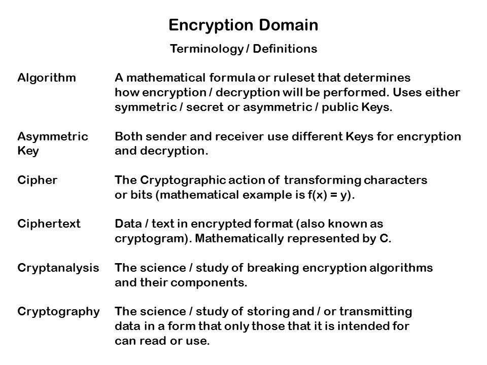 Encryption and decryption ppt presentations