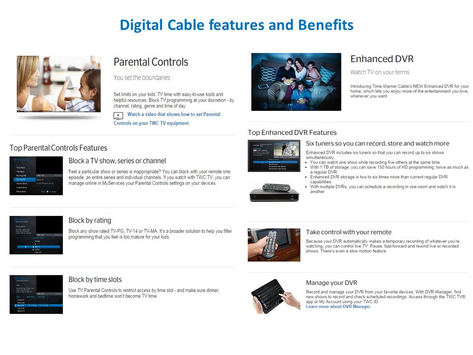 Time Warner Cable Authorized Retailer Program Product