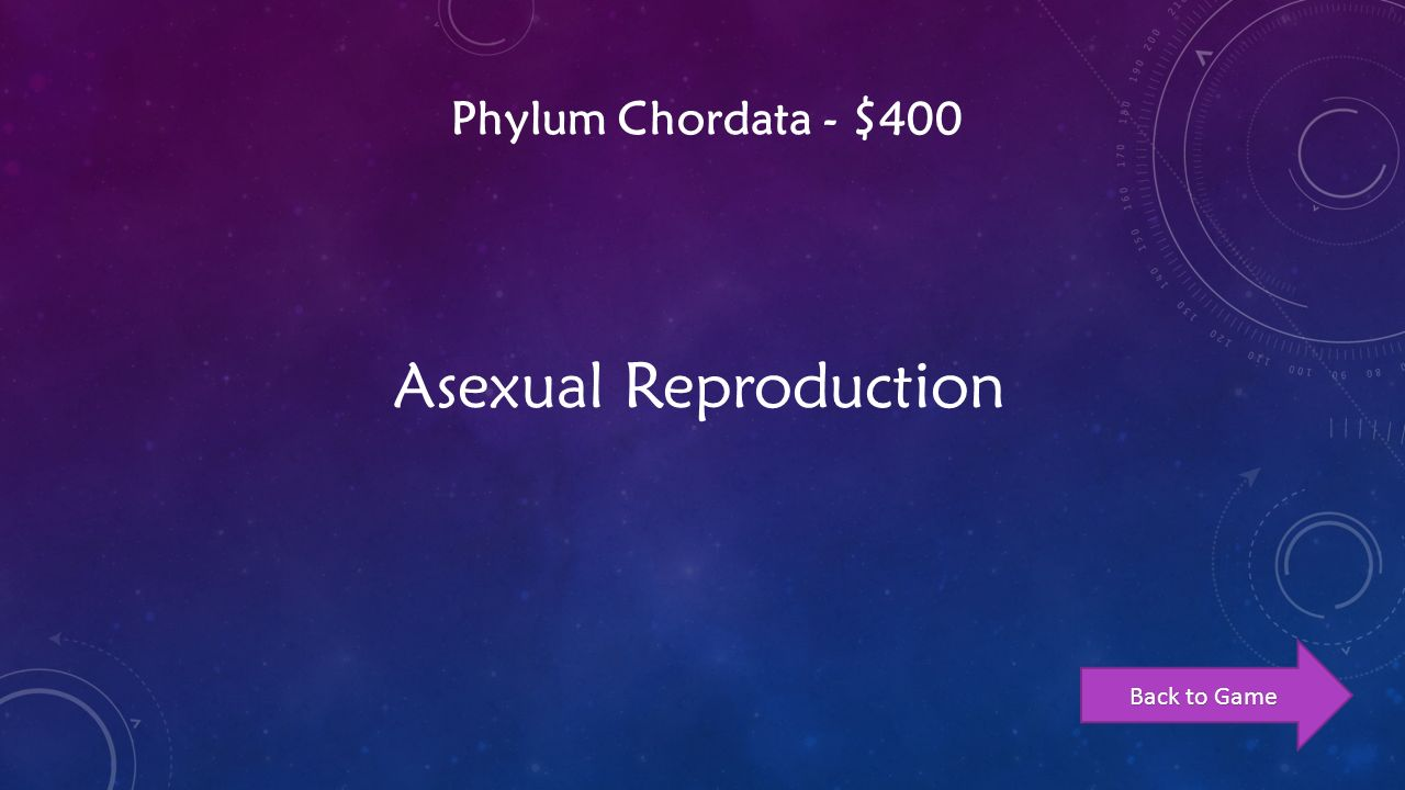 Chordata asexual reproduction in plants