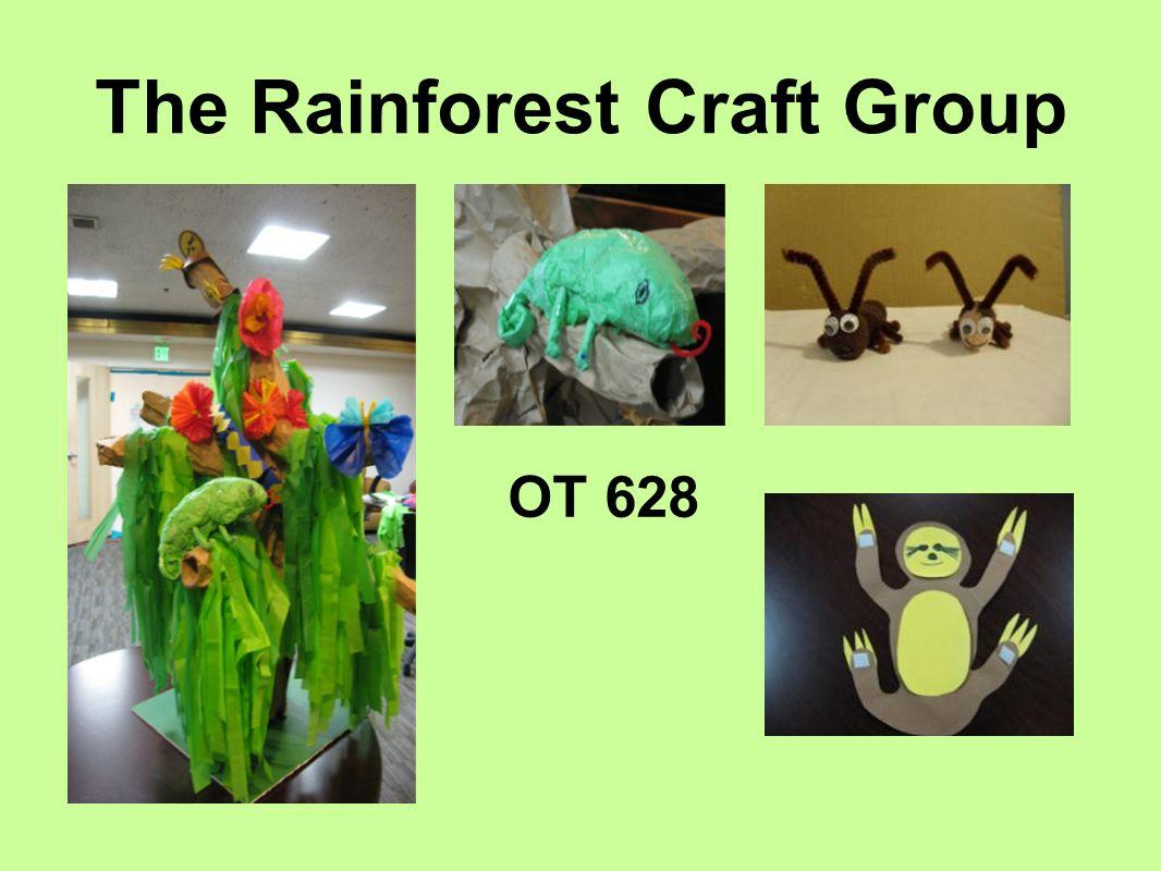 The Rainforest Craft Group Ot 628 Introduction Objective Improve