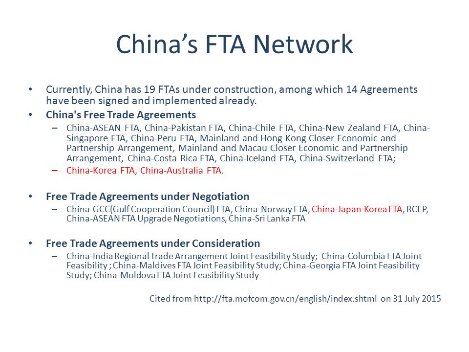 Eu China Fta To Manage And Improve Eu China Trade Relations Bin Ye