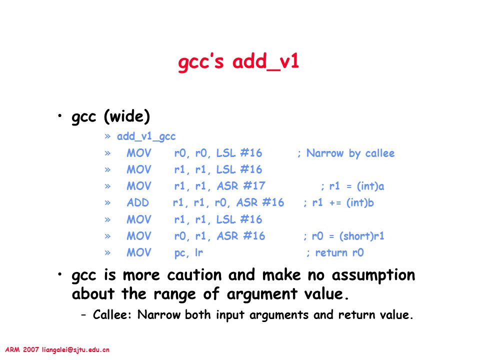 ARM 2007 Chapter 5 Effective C Programming Optimization