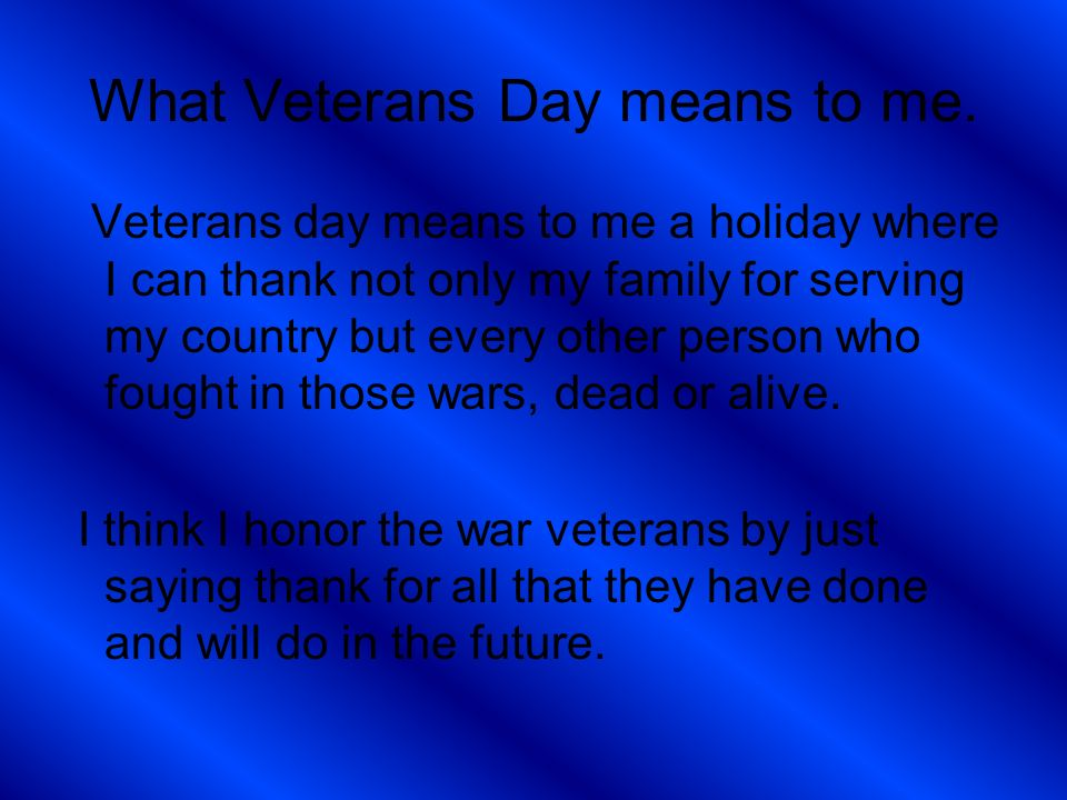 Free veterans day powerpoint #89061 | sagefox free powerpoint.