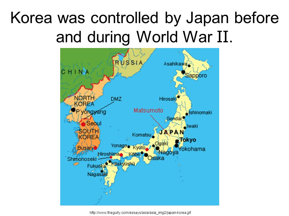Korea and the cold war ppt download 2 korea was controlled by japan before and during world war gumiabroncs Image collections