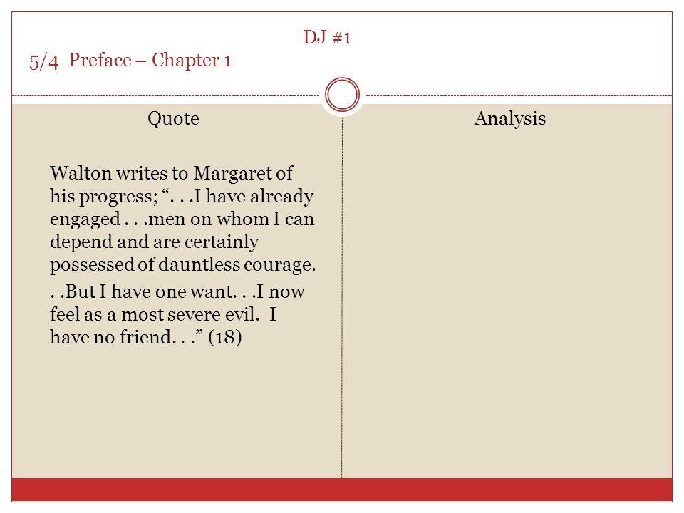 frankenstein chapter 1 quotes