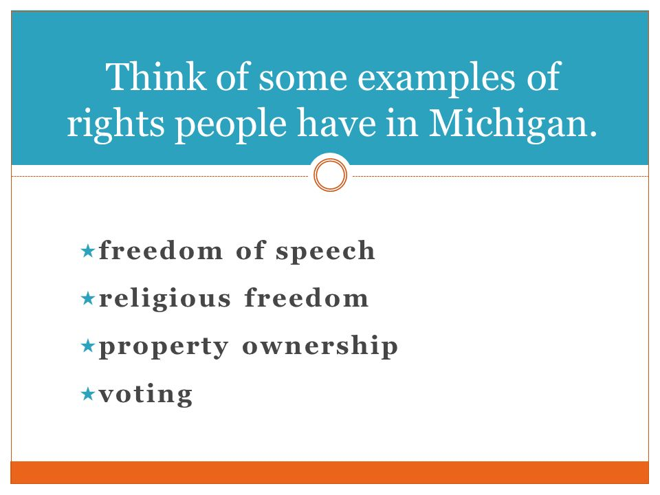 rights and responsibilities examples