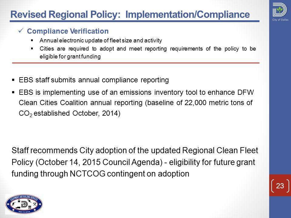 Clean Fleet Policy Budget Finance & Audit Committee September 21 ...
