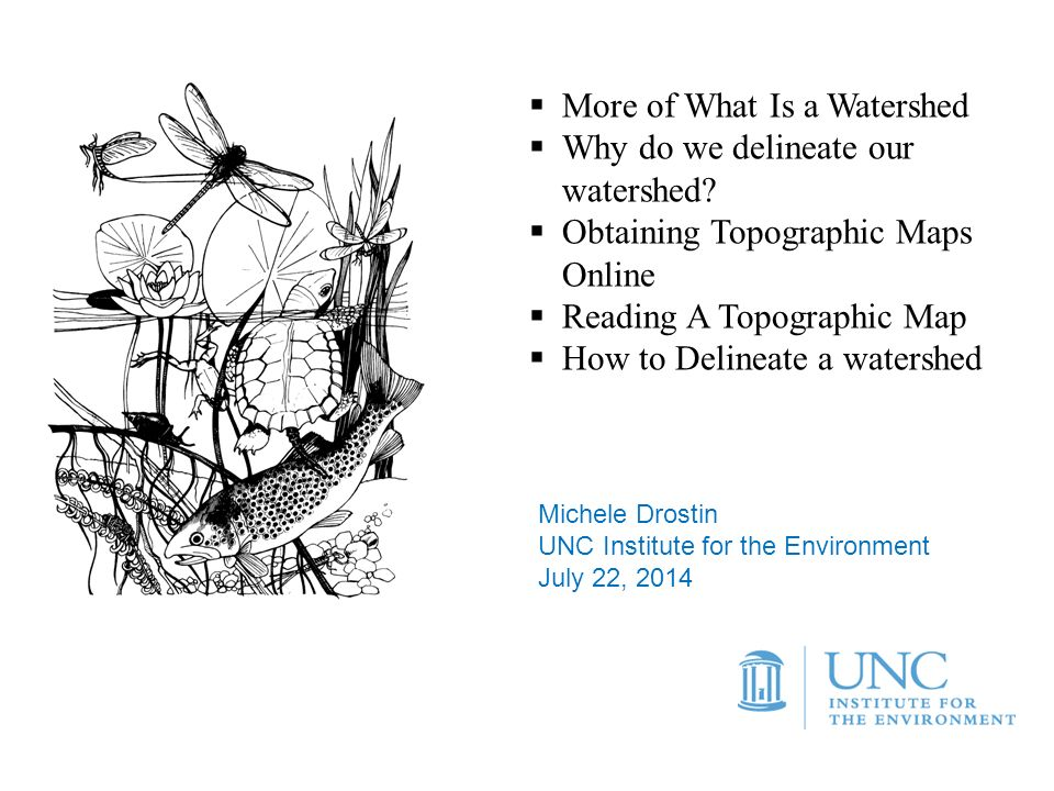 More Of What Is A Watershed Why Do We Delineate Our Watershed - Contour maps online