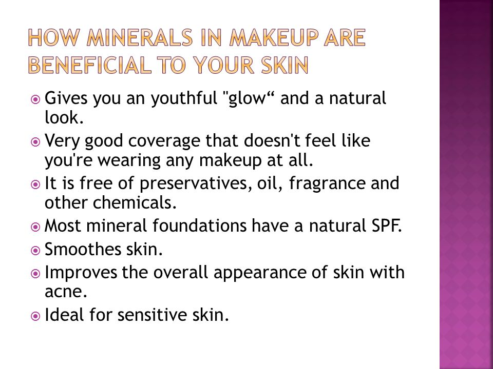 Benefits Of Using Mineral Makeup
