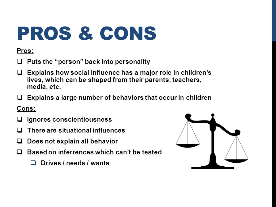 pros and cons of behavioral theory