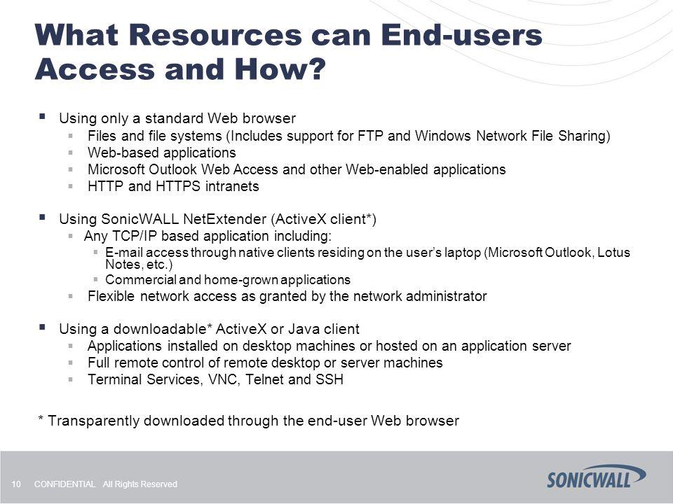 Sonicwall Netextender