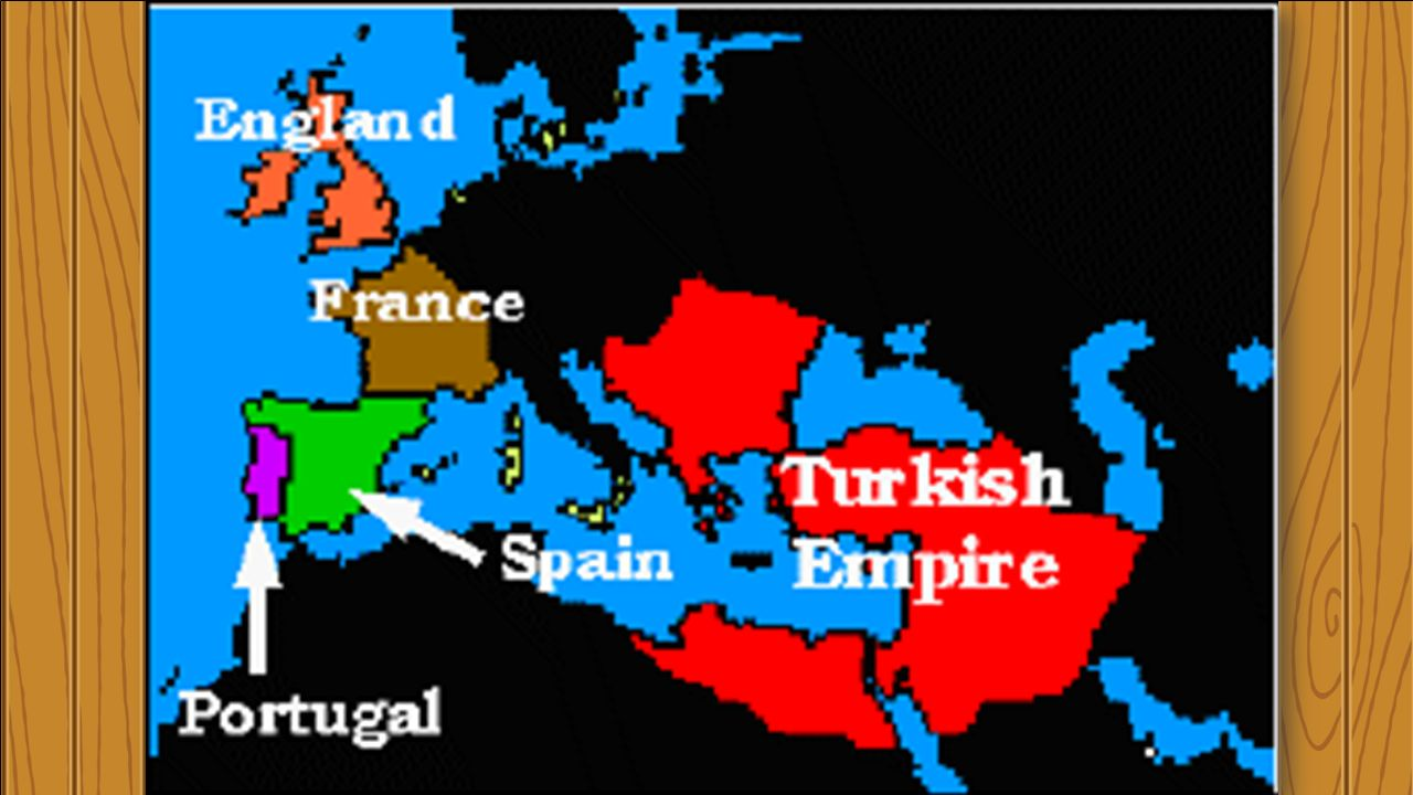 Map Of Portugal And Spain And France.Europeanexploration Colonization Portugal Spain England