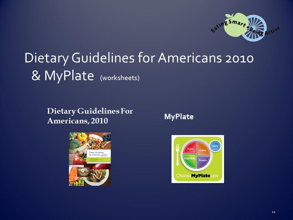 Printable Worksheets myplate worksheets : PowerPoint prepared by: Reina H. Hasting, FNP Nutrition Educator ...