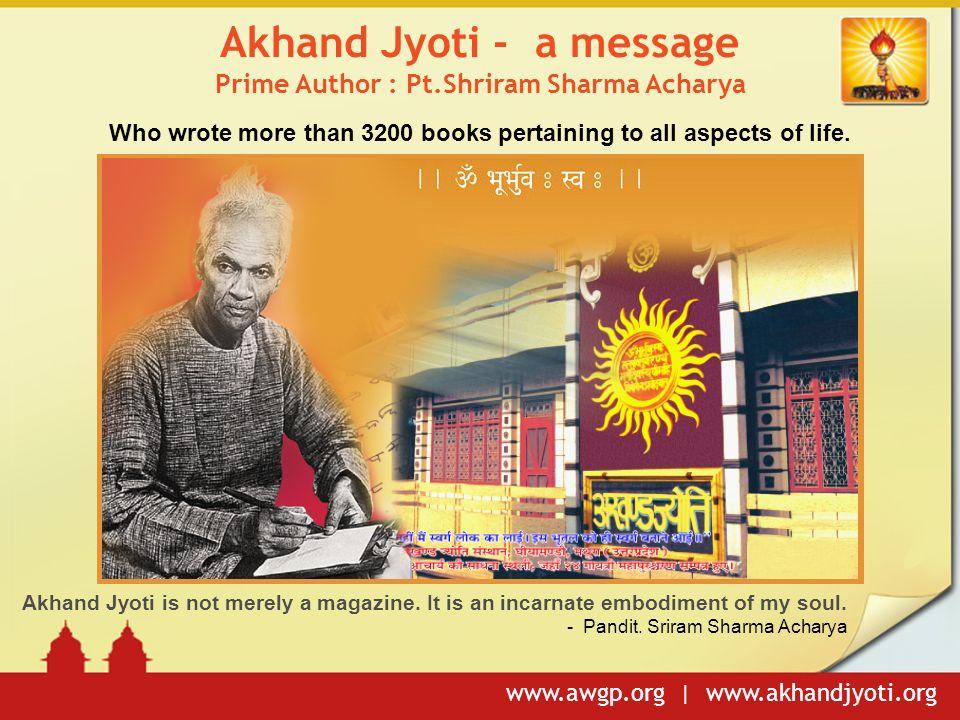 Akhand Jyoti Magazine In Pdf Download