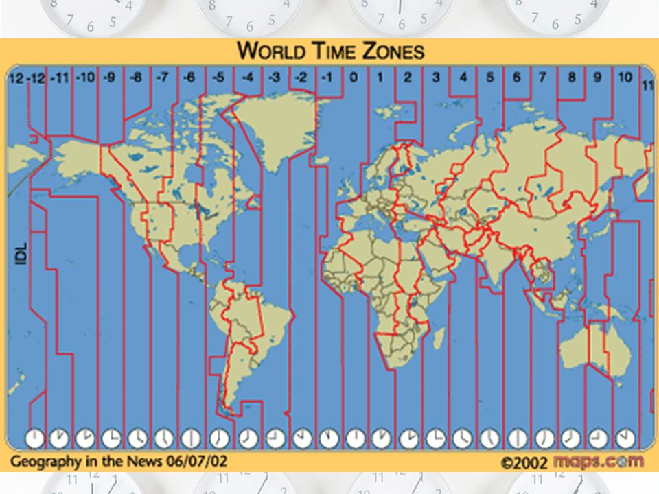 Time Zone Maps Day 13  Early Timekeeping Before the