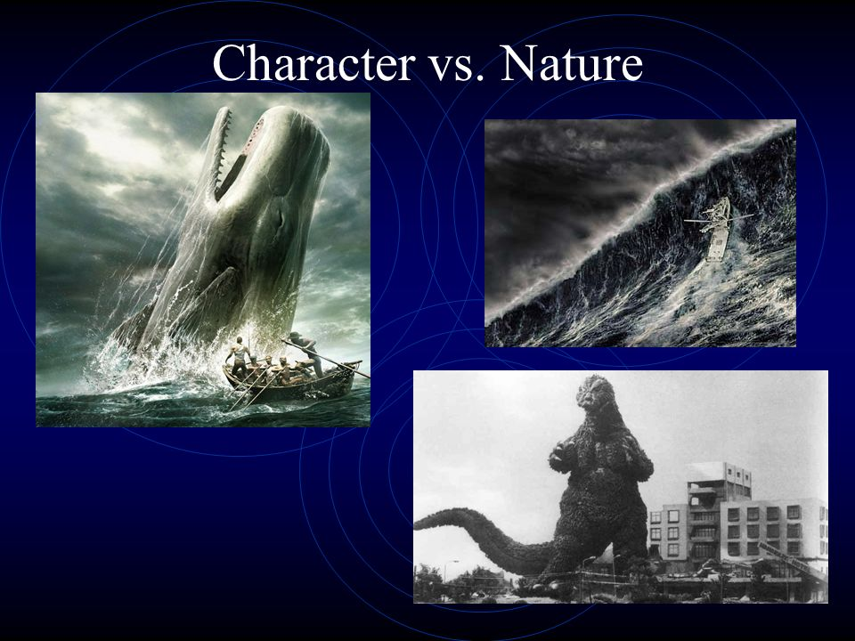 Types of External Conflict Character vs. Character