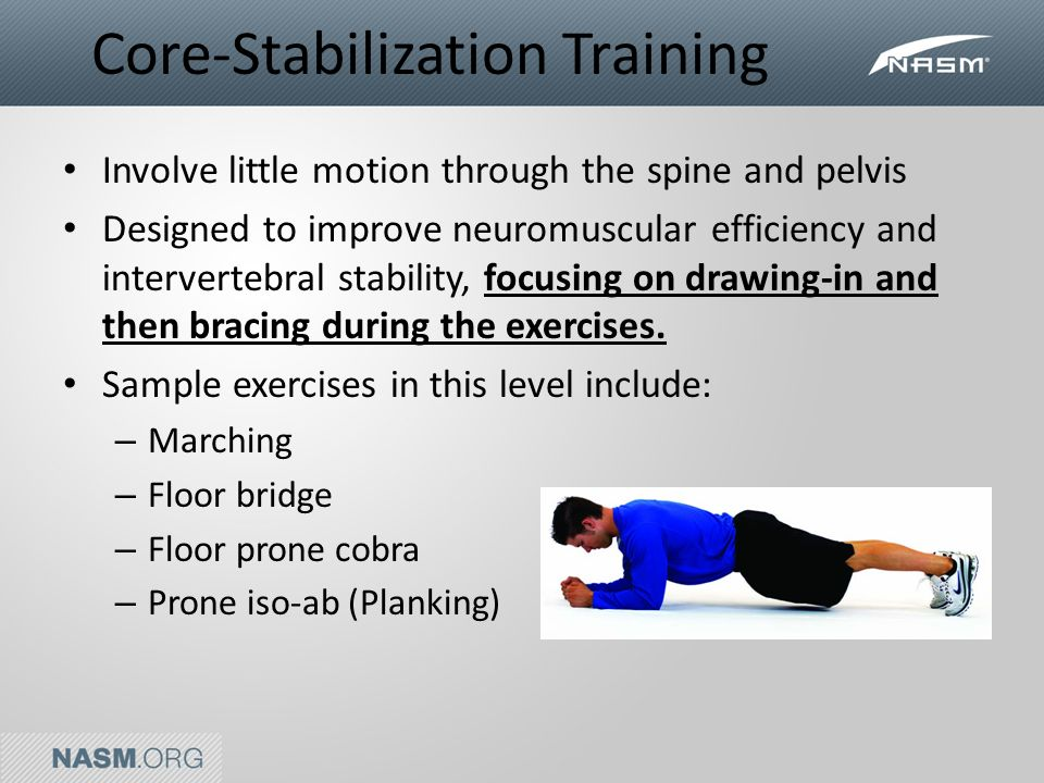 Fitness Foundations Module 4: Core Training  INTRODUCTION TO
