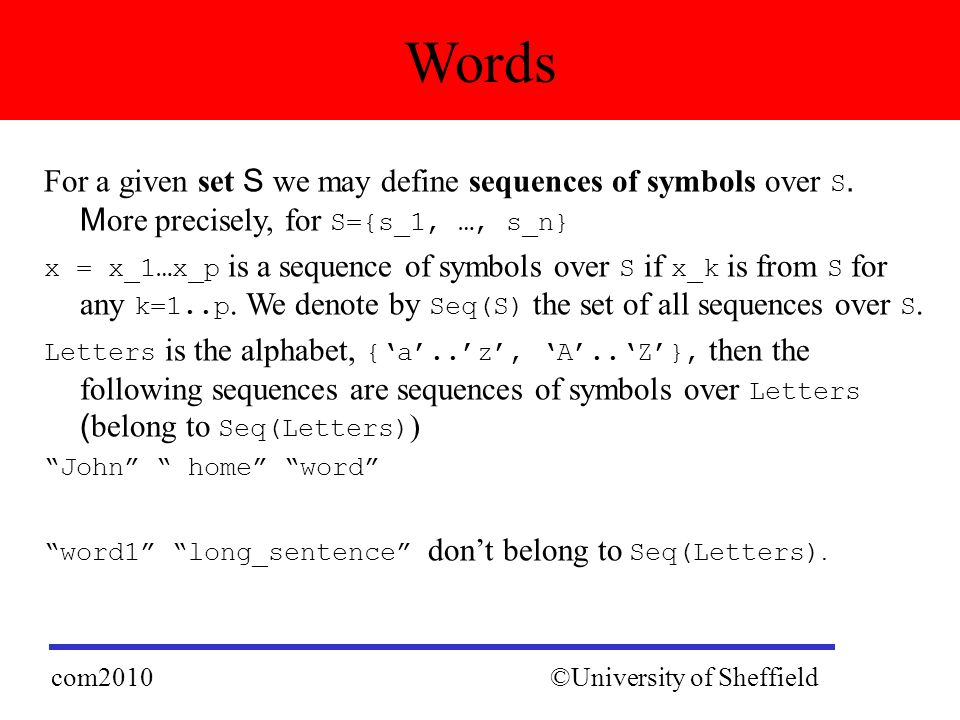 Com Functional Programming Lexical Analysis Marian Gheorghe Lecture