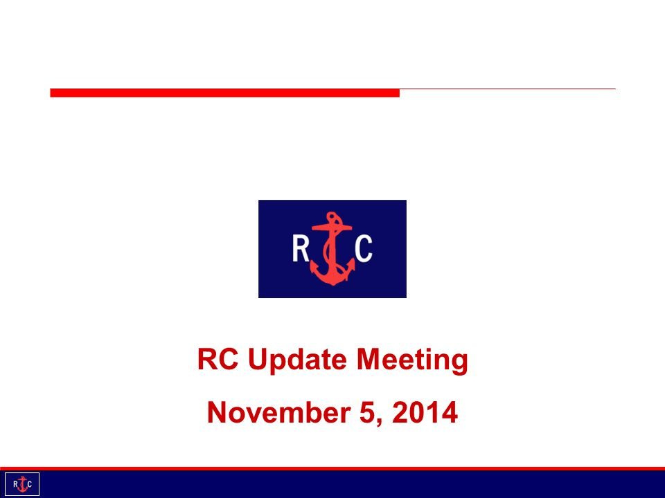 rc update meeting november 5 agenda introductions updates