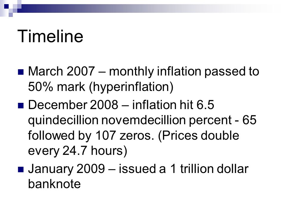 Inflation Economics 120 Sustained Rise In The