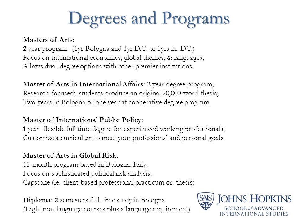 master thesis international economics degree