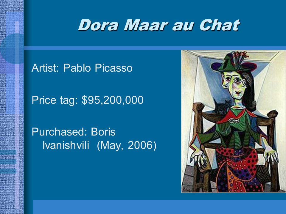 dora maar au chat analysis